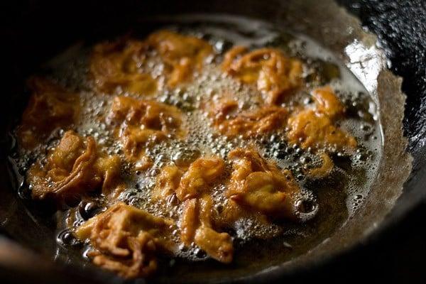 pakora are crisp and golden to make punjabi kadhi pakora