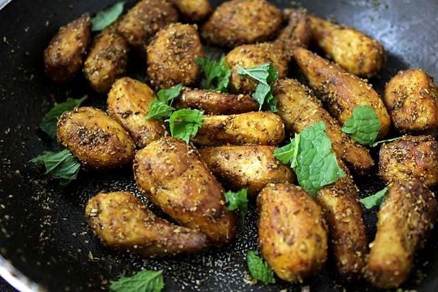 dry arbi recipe, sukhi arbi recipe