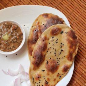 whole wheat naan, wheat naan recipe
