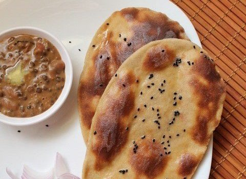 whole wheat naan recipe with yeast