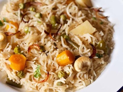 vegetable yakhni pulao recipe