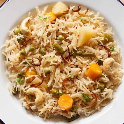 vegetable yakhni pulao