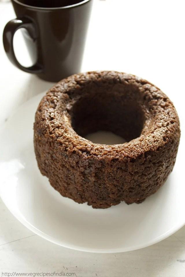 vegan banana chocolate cake recipe