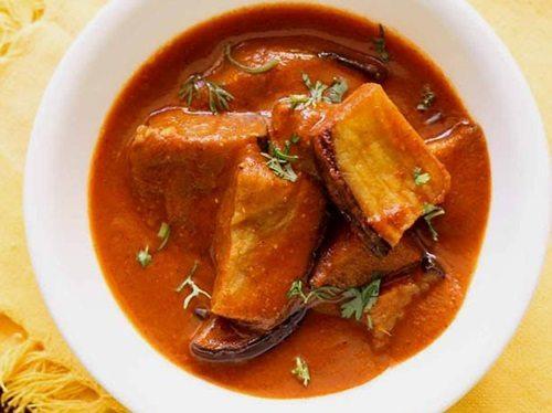Hyderabadi dum ke baingan recipe