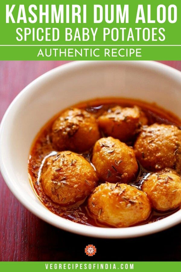 Potatoes for Kashmiri dum aloo recipe