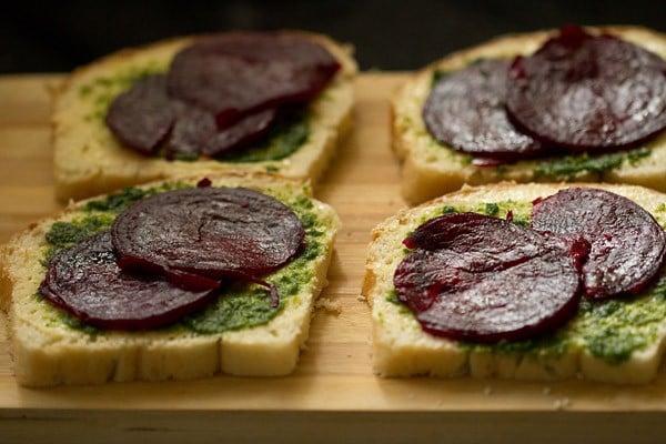 making Bombay veg sandwich recipe