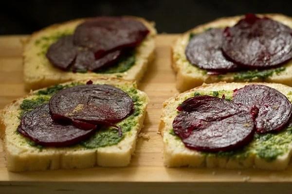 making veg sandwich recipe