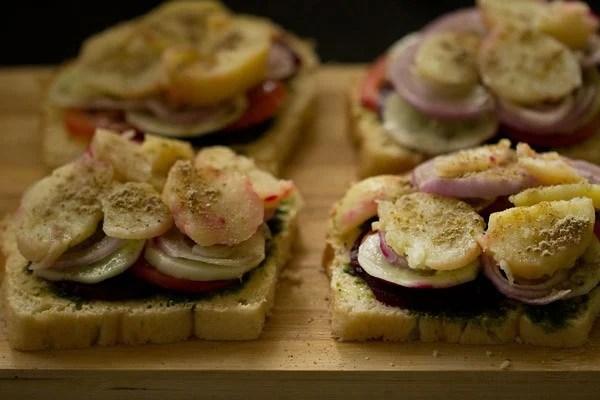 veg sandwich recipe, Bombay sandwich recipe, how to make sandwich recipe