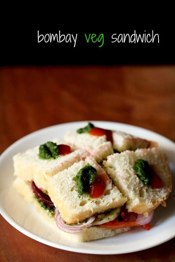 veg sandwich recipe, bombay sandwich recipe