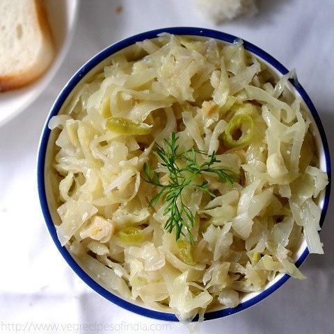 cabbage foogath