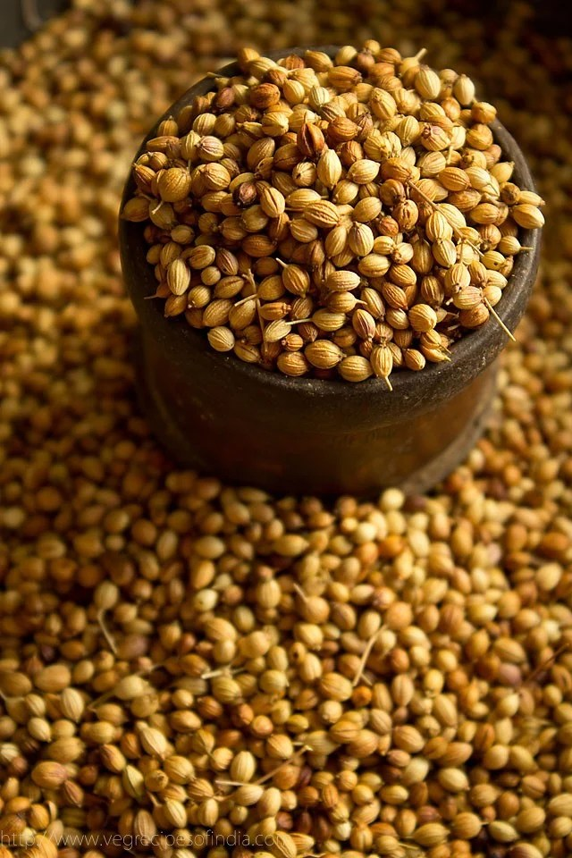 coriander seeds for coriander powder masala recipe