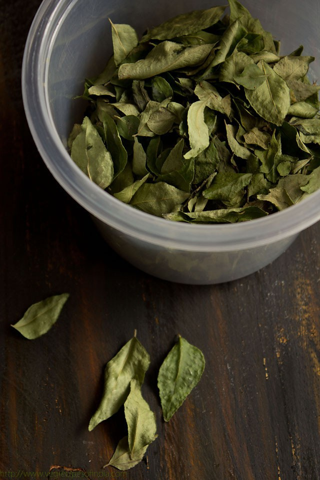 how to preserve curry leaves