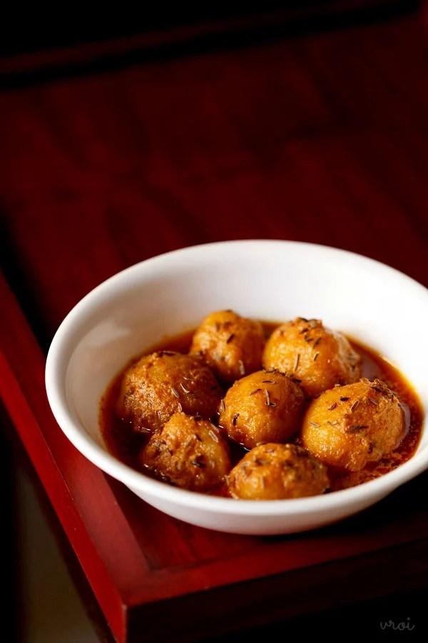 dum aloo recipe, Kashmiri dum aloo, Kashmiri dum aloo recipe