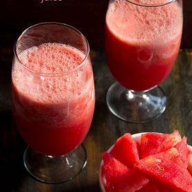 watermelon juice, watermelon juice recipe, indian watermelon juice
