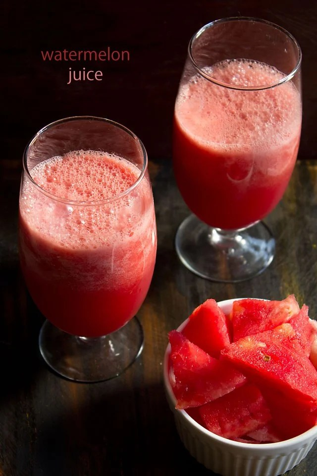 watermelon juice, watermelon juice recipe, indian watermelon juice