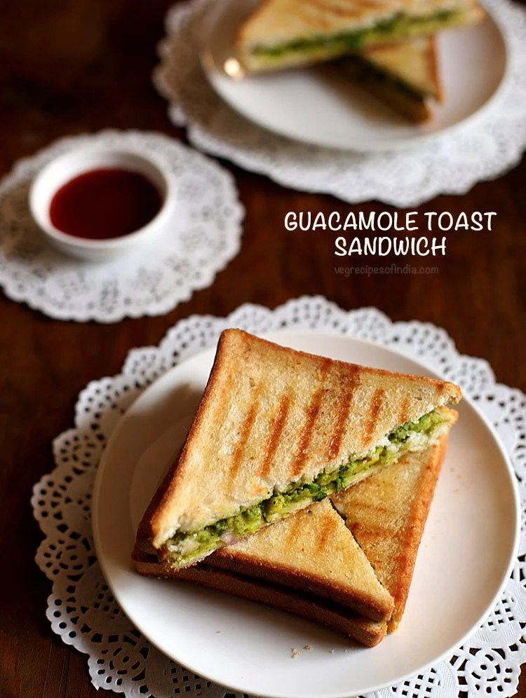 guacamole toast sandwich recipe