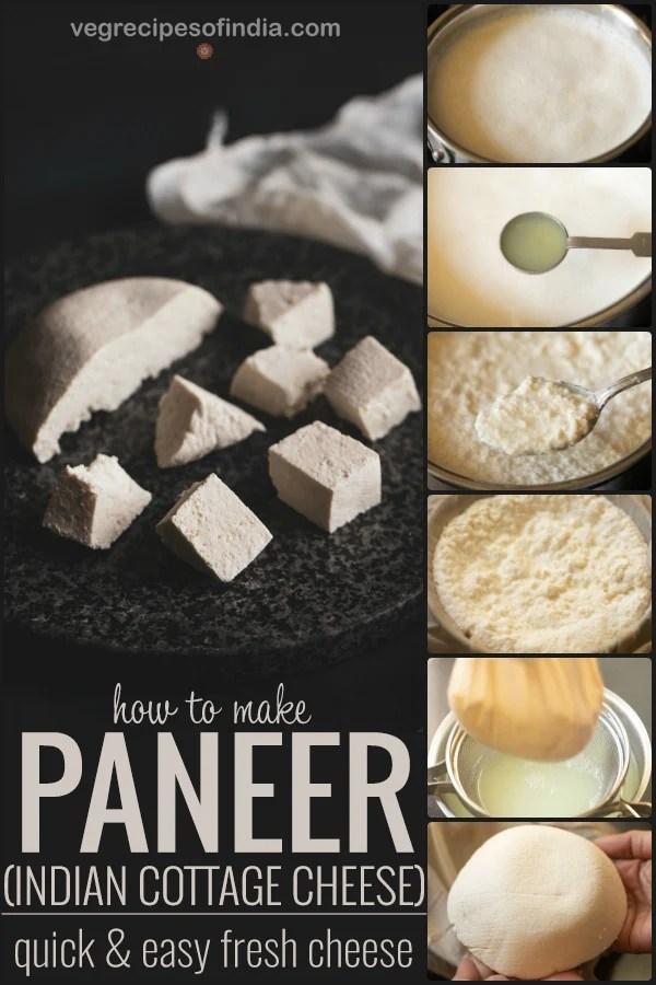 how to make paneer
