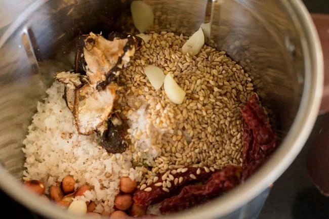 sesame coconut chutney recipe