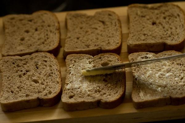 bread for Bombay veg toast sandwich recipe