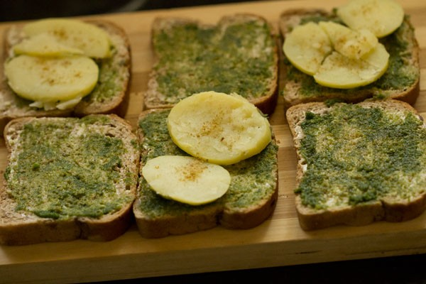 masala for Bombay veg toast sandwich recipe