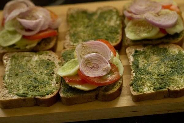onions for Bombay veg toast sandwich recipe