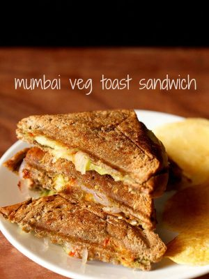 bombay veg toast sandwich recipe