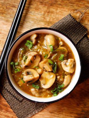 instant pot chilli mushroom