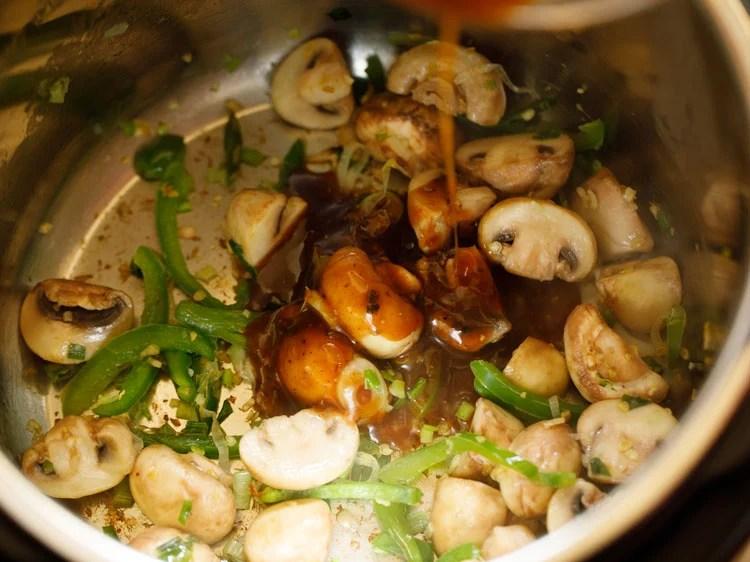 add sauce mixture