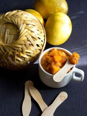 sweet ripe mango chutney recipe: quick sweet ripe mango chutney