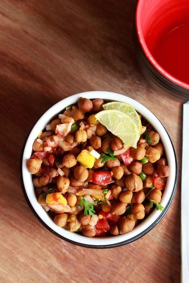 Mumbai-kala-chana-chaat-recipe