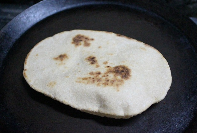 making pita bread recipe
