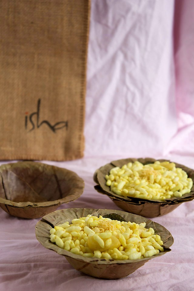 murmura chaat - puffed rice chaat