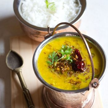 Dal Tadka (Stovetop and Instant Pot)