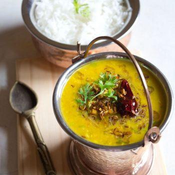 Dal Tadka (plaque de cuisson et pot instantané)