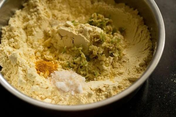 making khaman dhokla recipe batter