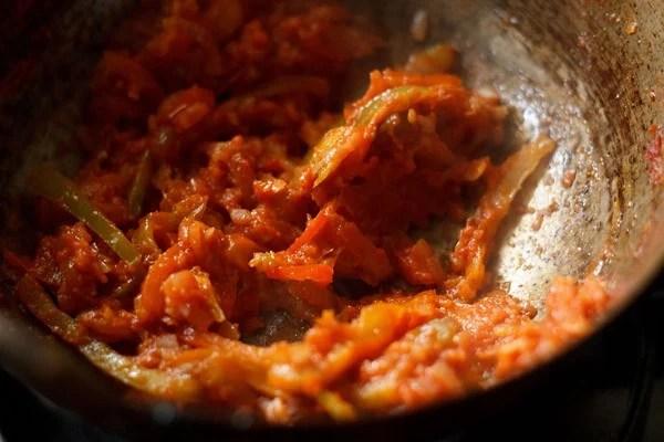 sautéing bell peppers