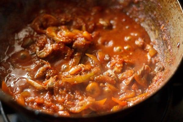 stir kadai mushroom recipe