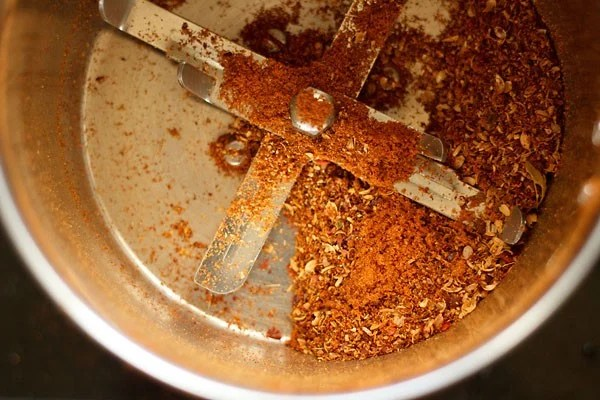 spices for kadai mushroom recipe