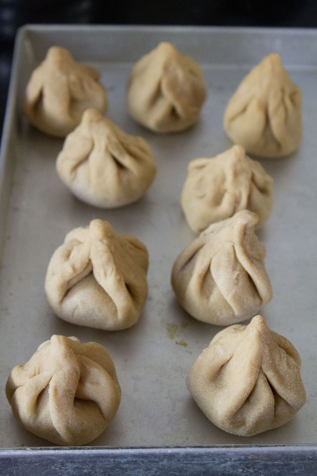 modaks ready to be fried