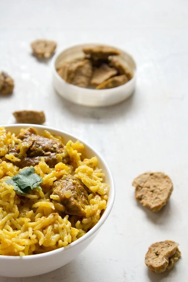 Punjabi wadi chawal recipe