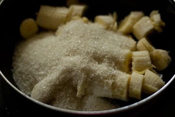 mashed bananas for banana bread recipe