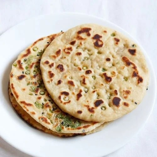 garlic naan recipe, garlic naan bread recipe