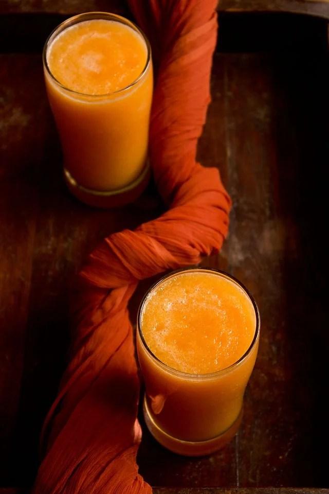 muskmelon juice recipe