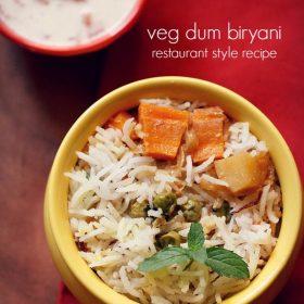restaurant style veg biryani recipe