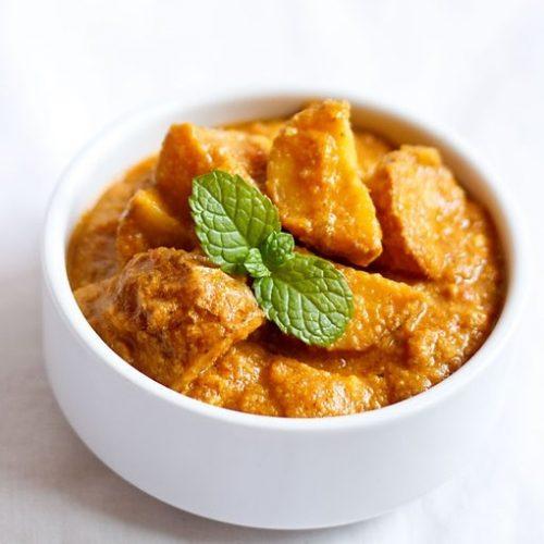 dum aloo punjabi recipe, punjabi dum aloo recipe