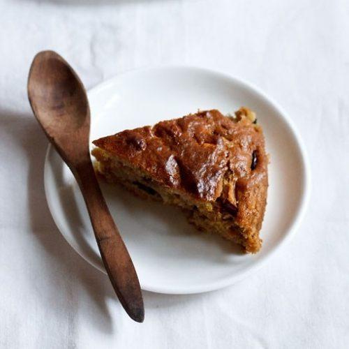 eggless plum cake recipe