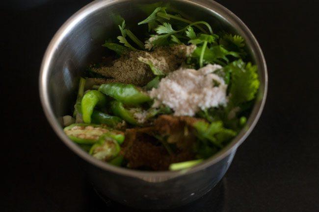 garlic chives chutney recipe