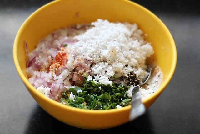 ingredients to make paniyaram recipe