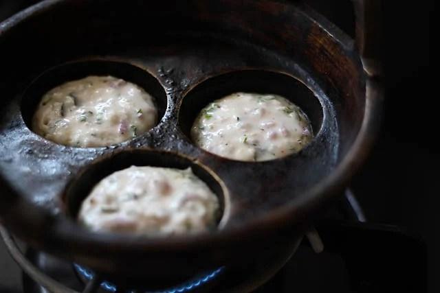 batter for making masala paniyaram recipe