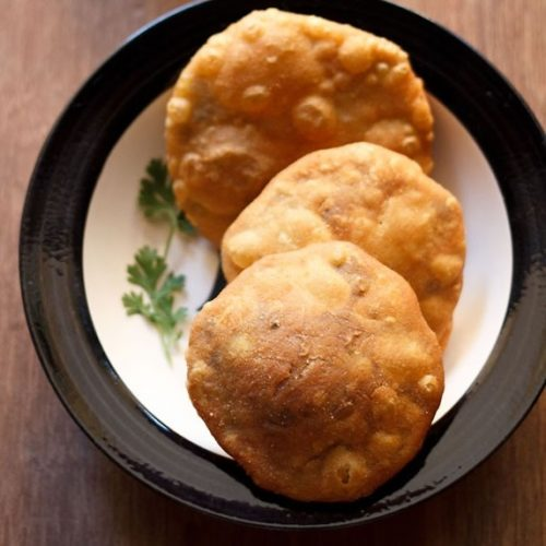 matar kachori recipe, peas kachori recipe